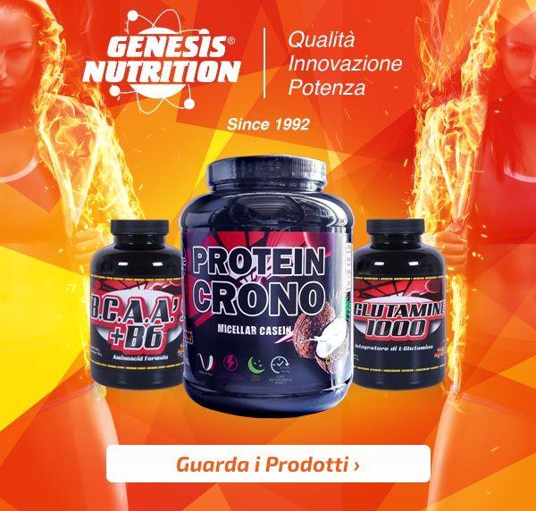 💪 GENESIS NUTRITION Disponibile la rinnovata gamma del marchio made in Italy su Muscle Nutrition! Info Prodotti:http://goo.gl/SHiOEt