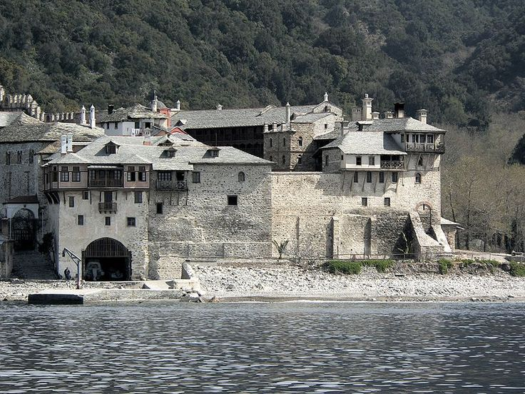 Monastery Xenophontos on Athos