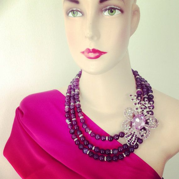 Bali Necklace for Bridesmaid by GraceSabarus on Etsy, $129.00
