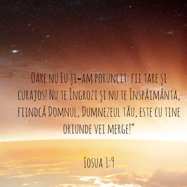 Iosua 1:9