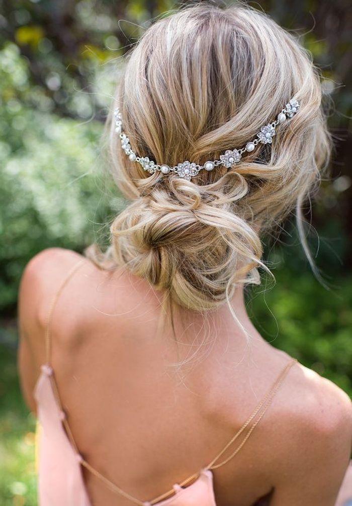 1001 Idees Pour La Coiffure Mariage Boheme Parfait Boheme Coiffure Idees Mariage P Wedding Hairstyles Bohemian Hairstyles Boho Wedding Hair