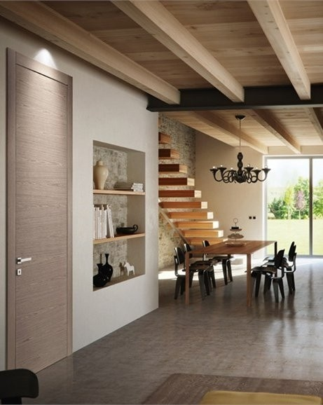 Wooden #door INVERSA by PIVATO #wood #interiors