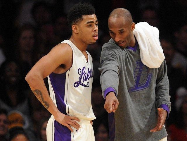 Lakers News: Kobe Bryant's Advice To D'Angelo Russell