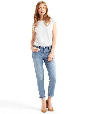 how to style boyfriend jeans! in 2019 | Boyfriend jeans