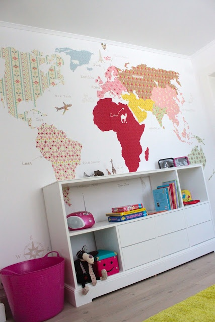 Love this world map!