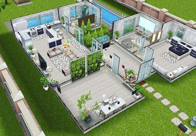 Loving my new furniture! #simsfreeplay