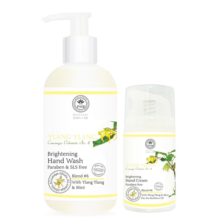 Brightening Hand Care Duo with Ylang Ylang & Mint