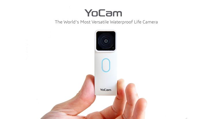 The smallest waterproof camera that integrate the functions of GoPro, DropCam, Lifelogging Camera, Selfie Camera, Dash Cam and more.