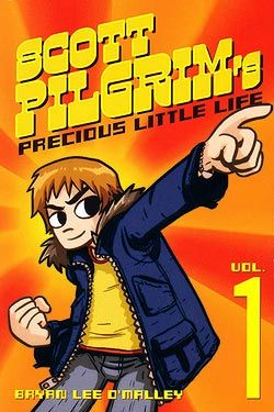 This graphic novel series follows 23 year old Scott Pilgrim as he battles Ramona Flowers' 7 evil exes to win the right to become her next boyfriend.