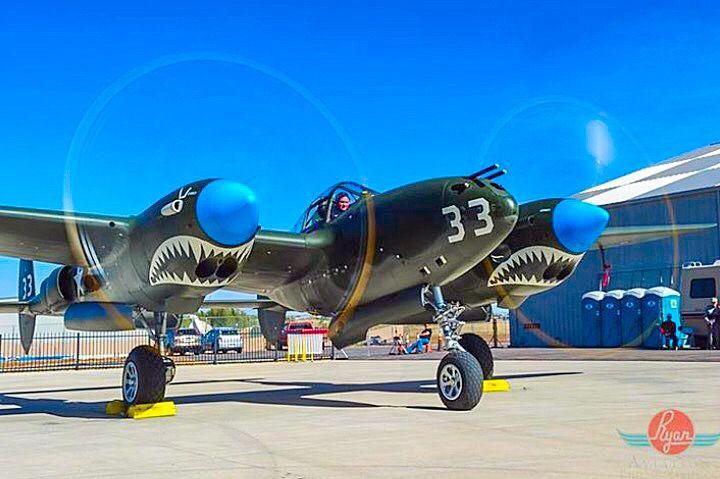 "Lockheed P-38J Lightning ""White 33""."