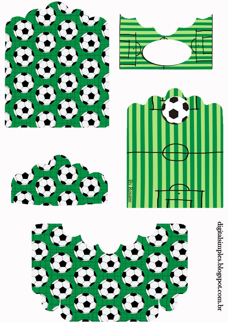 Soccer: Free Printable Candy Packages Support.