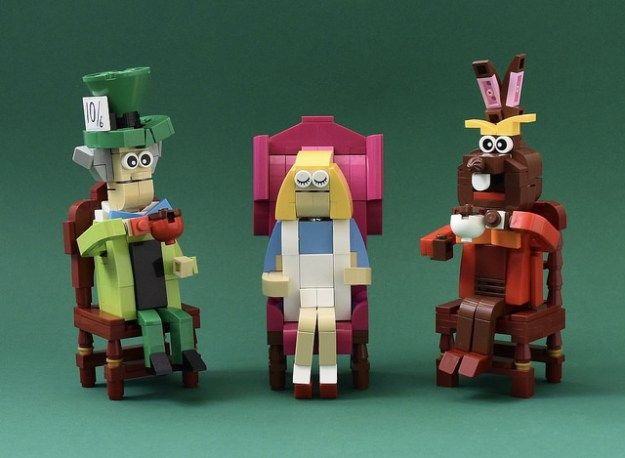 Mad For It Lego Creations Mad Hatter Tea Party Lego News