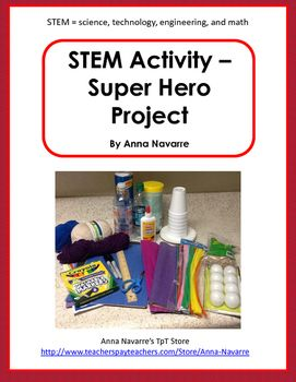 This Stem Activity project is a hands on approach to learning. Students use a 4 page packet to plan, design, construct and reflect on their learning.