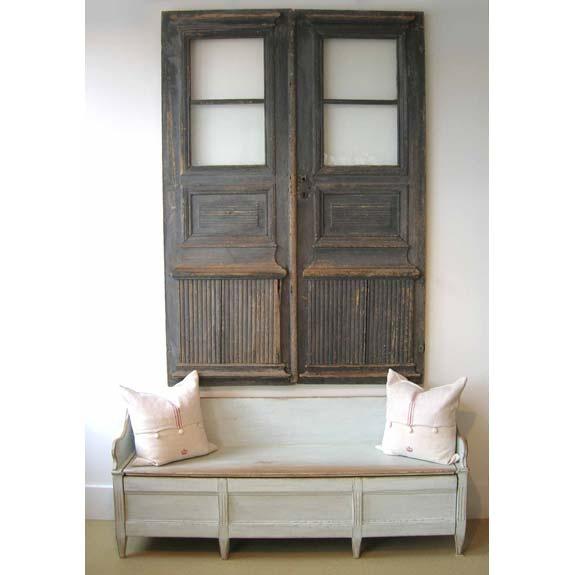 Antique Swedish doors