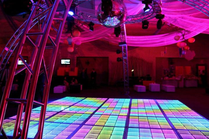 There are several decorators across the world who deals with 3D led dance floor sale. They first survey the venue of the floor and then help you decide what kind of a decor would be best suited for your dance floor, what color lights should go best with the flower arrangement and also will complement the theme/ color scheme room.