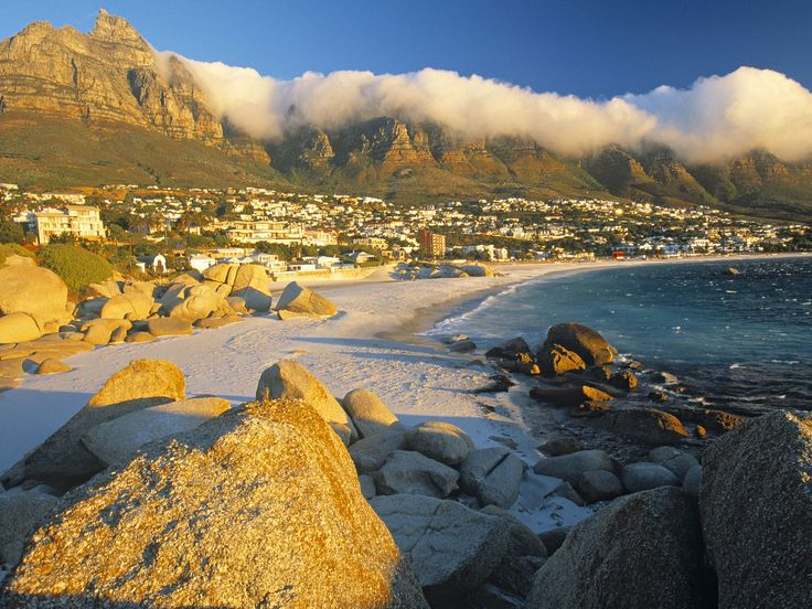 Clifton Bay, Cape Town, South Africa. God's own Country.
