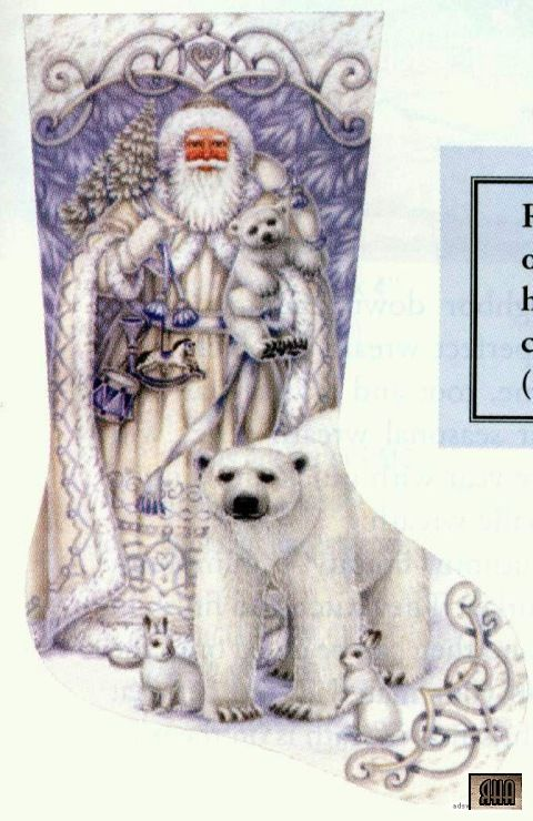 Santa and Arctic Friends - 11 of 11