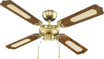 B&Q. (n.d.) Blyss Reamington Antique Brass Effect Ceiling Fan.[Online]. Available from: http://www.diy.com/nav/decor/lighting/indoor-lighting/ceiling_fans/Blyss-Reamington-Antique-Brass-Effect-Ceiling-Fan-11727606 [Accessed: 26 May 2014 - £32 - H40 W107