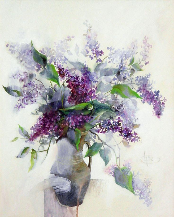 Title: Flori XII / Style: Acrylic on Canvas