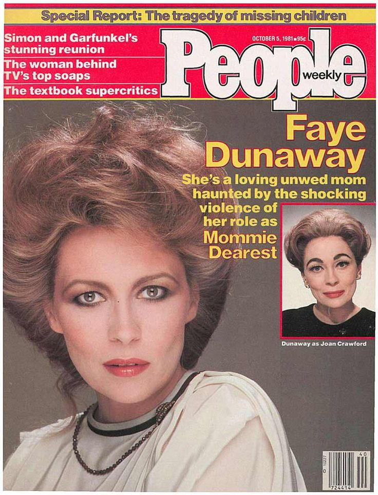 People magazine, October 5, 1981 — Faye Dunaway in Mommie Dearest