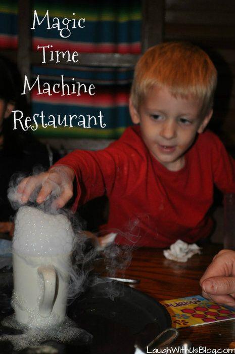 Magic Time Machine Restaurant San Antonio, Texas ~LaughWithUsBlog