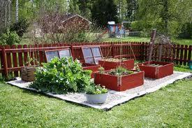 köksträdgård, faluröd, raised bed, kitchen garden