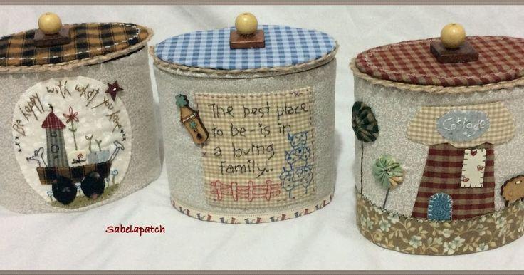 Sabelapatch: Reciclando cajas de kleenex