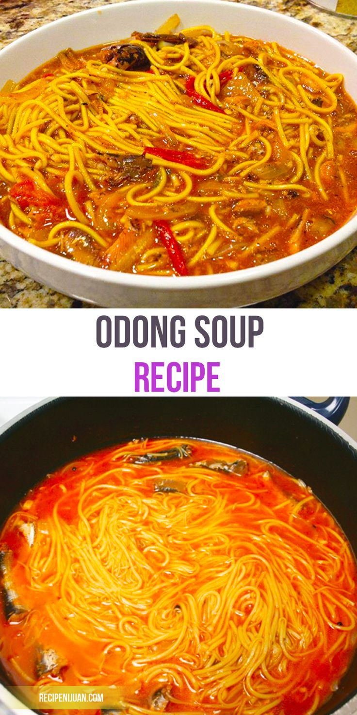 Odong Recipe (Odong Noodles with Sardines) | Recipe ...