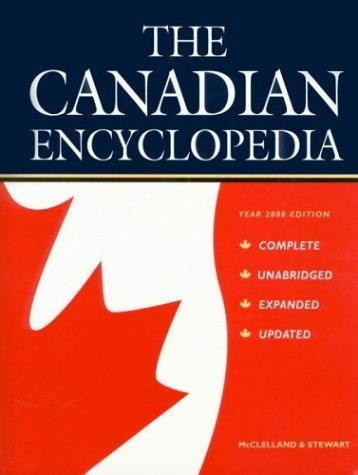 The Canadian Encyclopedia is a source of information on Canada. It is available online, at no cost. The Canadian Encyclopedia is available in both English and French and includes some 14,000 articles in each language on a wide variety of subjects including history, popular culture, events, people, places, politics, arts, First Nations, sports and science
