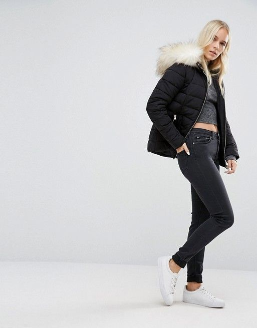 Miss Selfridge Petite | Miss Selfridge Petite Padded Jacket