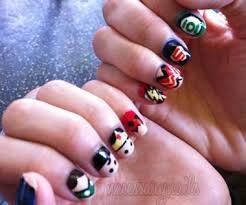 Best 25 superhero nails ideas on pinterest batman nails wonder image result for superhero nails prinsesfo Gallery