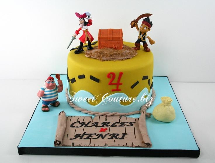 Gâteau Pirates Charles & Henri cake