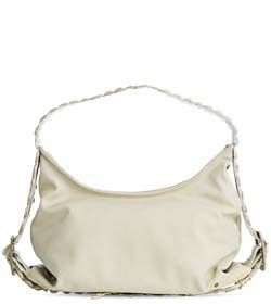 """Chimpel """"NAFS"""" Leather Hobo Handbag. Leather with crocodile leather handle. Cape Town, South Africa"""