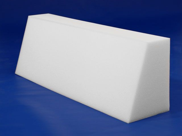 "Check out the deal on Back Bolster - 36""x9""x12"" at Foam Factory; 2 of these for twin bed"