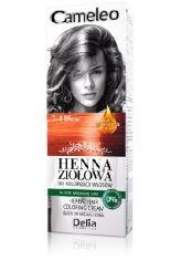 Delia Cameleo Henna Ziołowa - powstała na bazie naturalnej hny  dzięki czemu gwarantuje bezpieczną aplikację, bez ingerencji w wewnętrzną strukturę włosa: https://www.perfectfresh.com/?producent=Delia&seria=Cameleo+Henna+Zio%B3owa&ex=pa