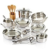 Wolfgang Puck Bistro Elite 25-piece Chef's Choice Cook Set: Cooking Sets, Chef Choice, 25 Pieces Chef, Favorite Things, Elites 25 Pieces, Wolfgang Puck, Bistros Elites, Choice Cooking, Puck Bistros