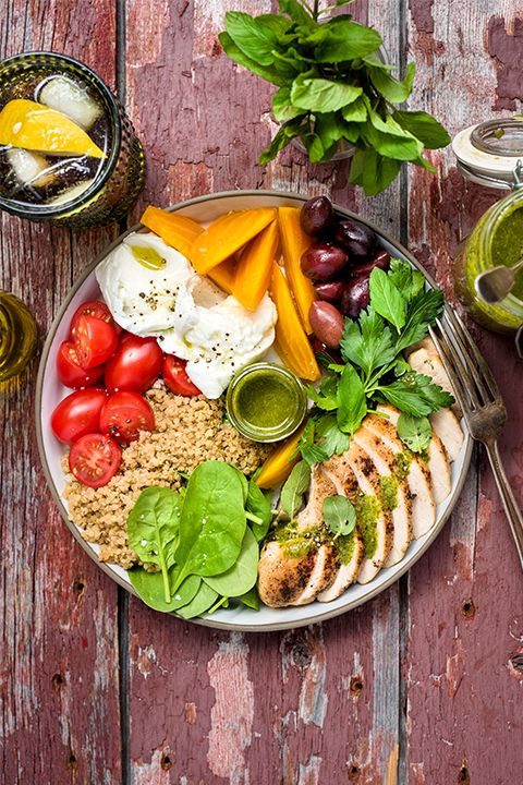 INGREDIENTS BY SAPUTO   Looking for recipe ideas to enjoy after a hike? This healthy grilled chicken and quinoa bowl will give you the energy you need! Just add beets, Kalamata olives and Saputo Mozzarina di Bufala mozzarella cheese for a nutritious meal in the great outdoors!