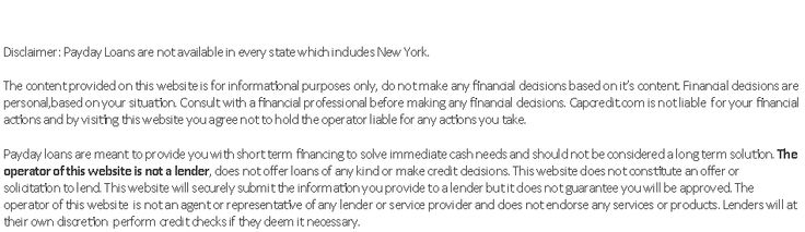 Online payday loans are practically much like personalized personal loans other than the truth that payday loans tend to be reduce in sum and brought to get a short-word time. The lower maximum loan amount for any payday loan is made the decision by the loan provider. So it would be wise to look out for lenders who will provide you the payday loan amount that you are seeking so you don't have to pay that extra interest on that extra amount.