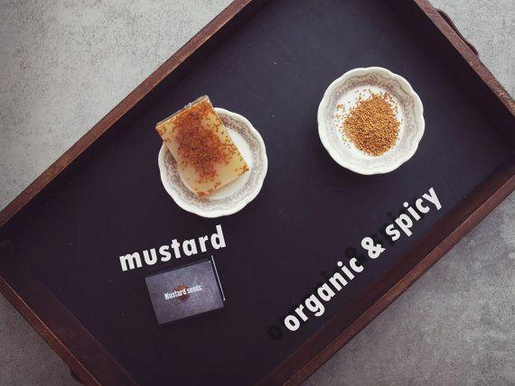 Spicy Soap Mustard. Handmade Organic Vegan Soap. Grandma's Recipe. Beauty Secret. Healing Soap. Kids & Baby soap.