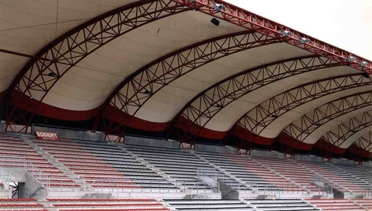Couverture de tribunes du stade de Rennes | Arcora