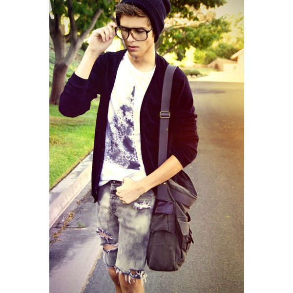 Fuck Yeah, Guys In Beanies ❤ liked on Polyvore