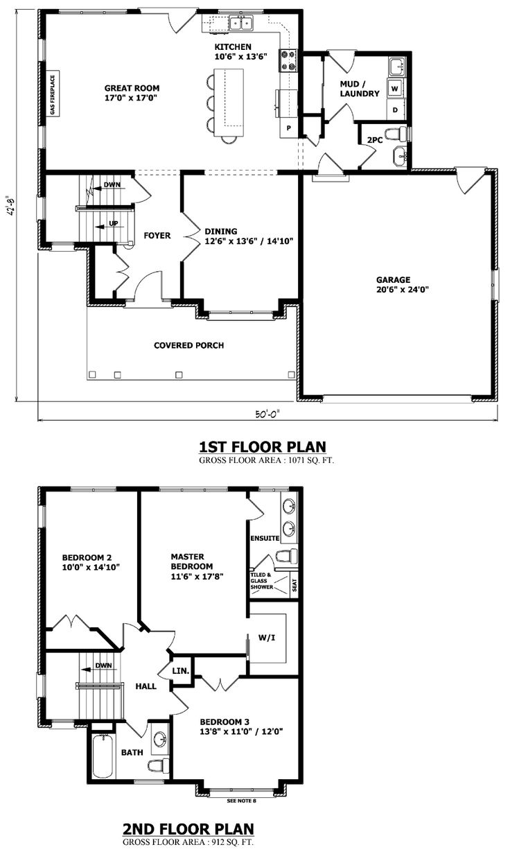 Simple house plan with 2 bedrooms and garage - Needs Sizing Down For Us Two But Other Rooms Can Be Turned Into An Office Two Storey House Planscave
