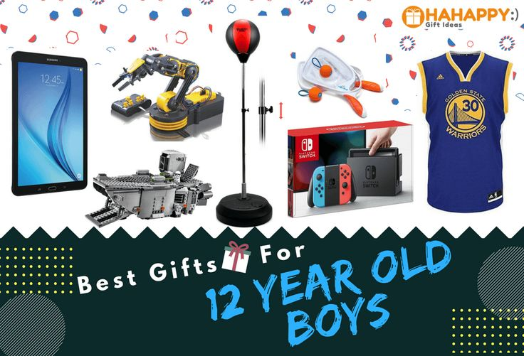 Looking For Fun, And Cool Gifts For A 12-Year-Old Boy