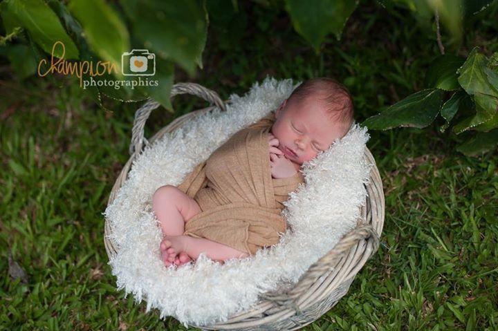 #outdoornewbornphotos :) Champion Photographics Mackay Qld