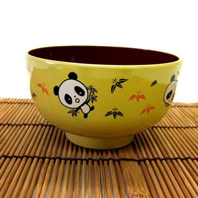 Our Panda Bowl is the perfect way to serve soup or rice to your child. The bowl is made of plastic making it very durable. Give as a gift with a pair of our training chopsticks!
