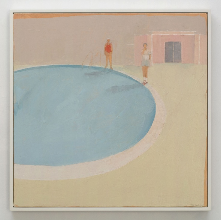 Kate Small, Splash Centre, 2007, Oil on canvas, 700 x 700mm