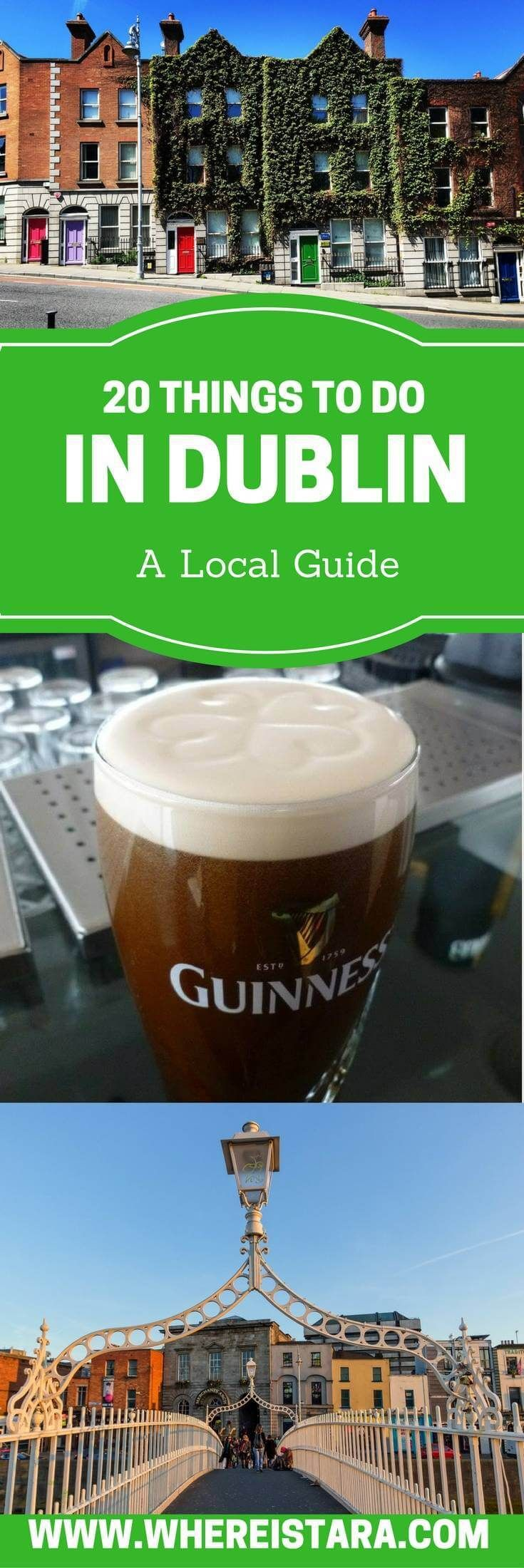 20 Things to do in Dublin as written by a local! The Guinness Storehouse, Jameson Whiskey Tour, Viking Splash tour and more. There are so many things to do in Dublin. This guide will help you to plan your trip to Dublin. Includes ways to skip the queue at popular attractions.
