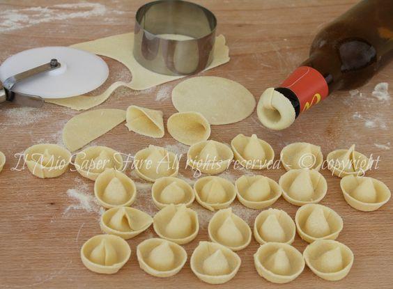 Sombreri di pasta fresca fatti in casa il mio saper fare