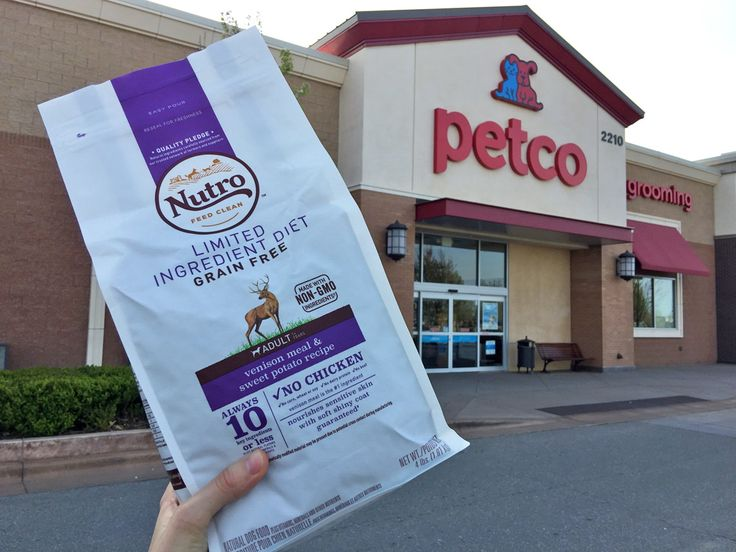 FREE 5-Pound Bag of Nutro Dog Food at Petco--Print Your Coupon Now!