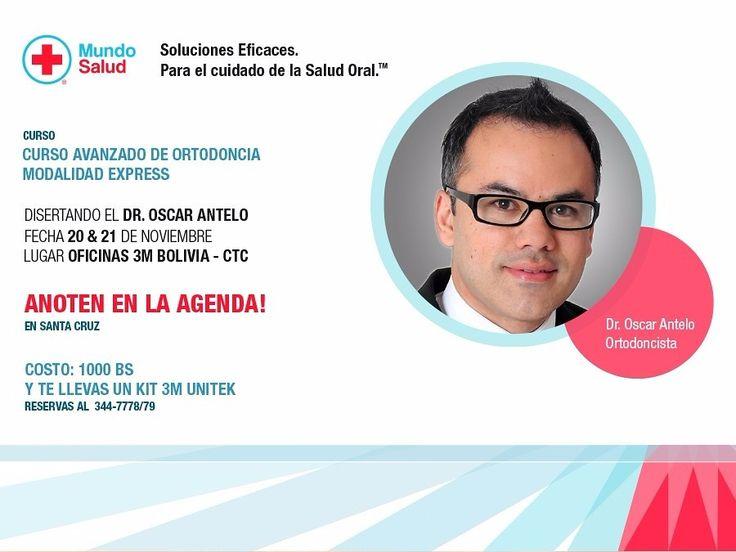 Curso Avanzado en Ortodoncia - Modalidad Express - Dr. Oscar Mario Antelo C.D., M.S.